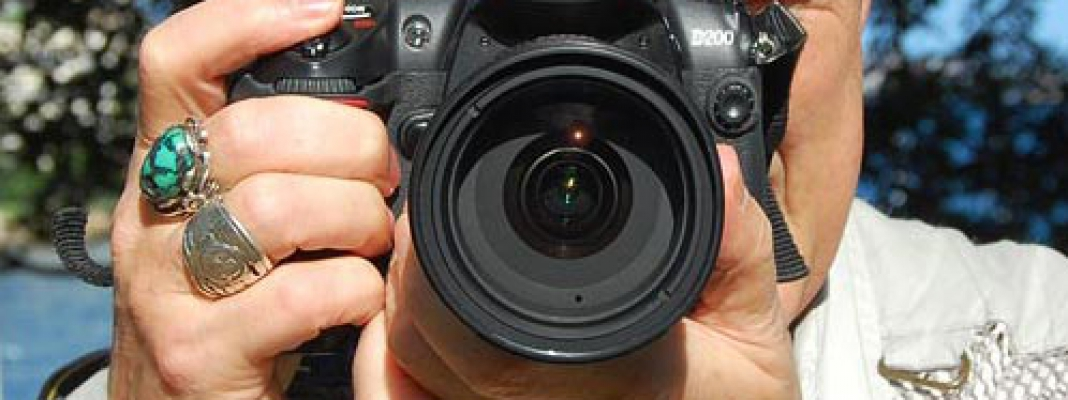 The War Against Blurry Photos: Holding Your DSLR